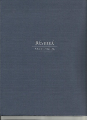 Professionally Written Resumes
